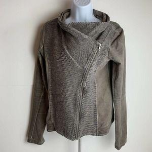 BKE Buckle Outerwear Zip Up Jacket